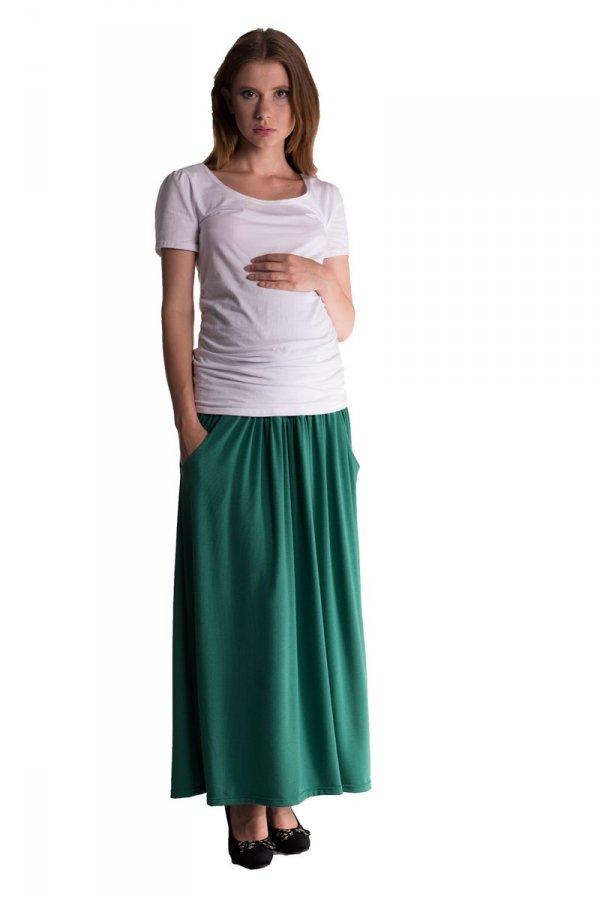Maxi długa spódnica ciążowa 3310