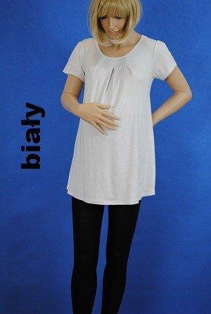 Wiskozowa tunika ciążowa z zakładkami 22  3228