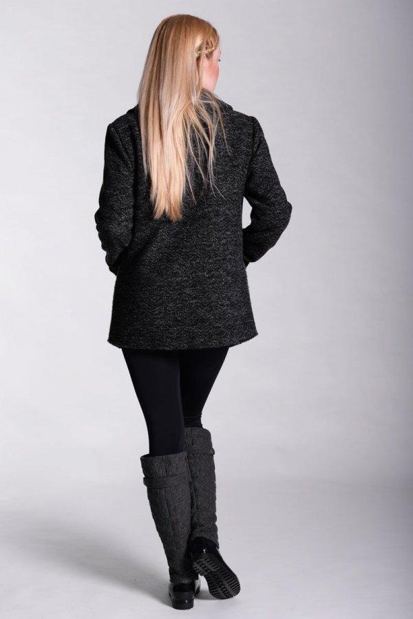 Dzianinowy płaszcz ciążowy 2368