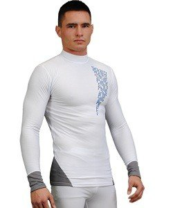 Bielizna termoaktywna antybakteryjna Silverplus Bluza męska 9268