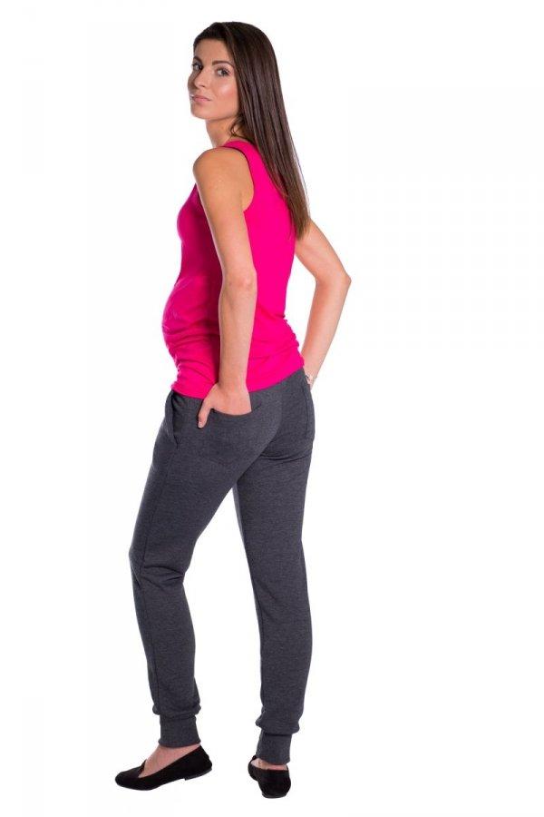 Spodnie ciążowe dresowe rurki 3778