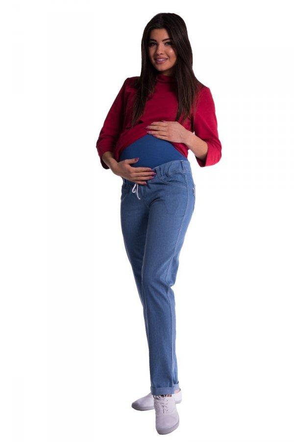 Spodnie ciążowe z panelem 3679