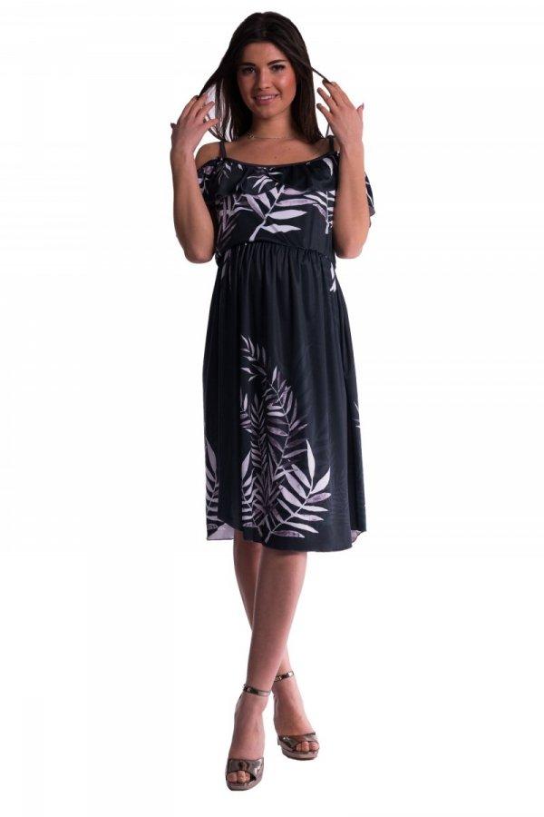 Sukienka ciążowa na ramiączkach 3655