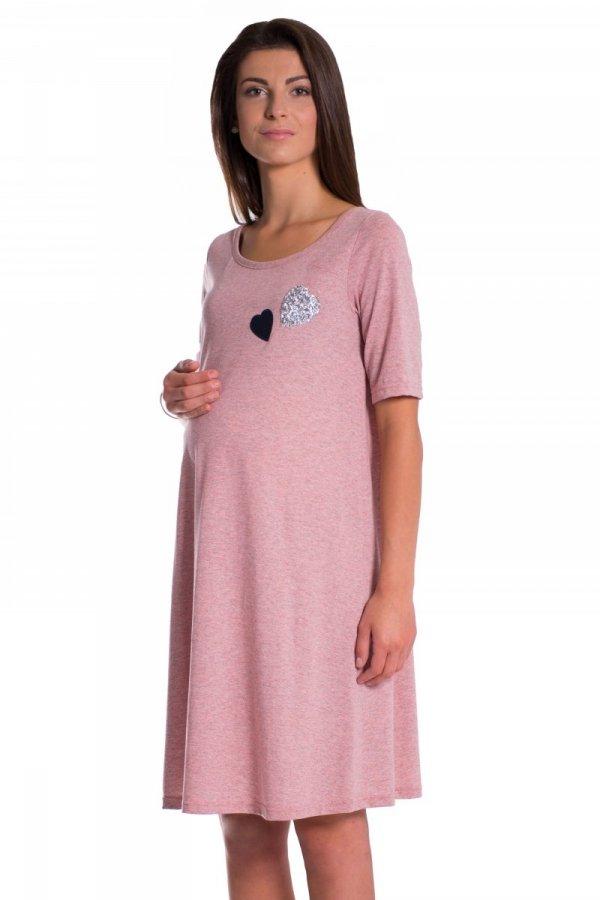 Sukienka ciążowa z aplikacjami 3877