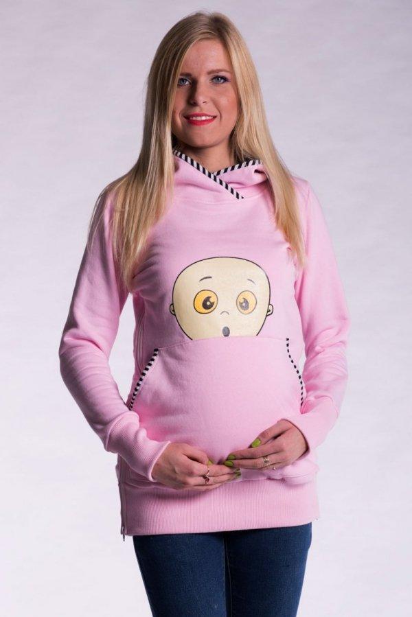 Bluza ciążowa z nadrukiem 2429