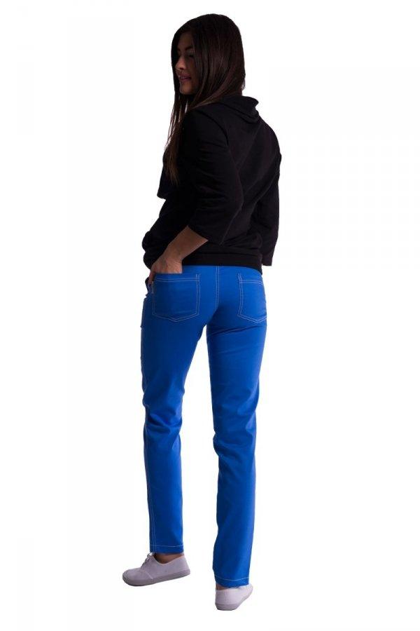 Spodnie ciążowe z mini panelem 3686