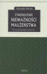 Stwierdzenie nieważności małżeństwa i inne małżeńskie procesy kościelne Aleksander Sobczak