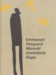 Warunki oświetlenia. Elegie Emmanuel Hocquard