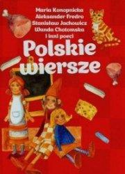 Polskie wiersze Maria Konopnicka, Aleksander Fredro, Stanisław Jachowicz (czerwone)