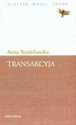 Transakcyja  Anna Stanisławska