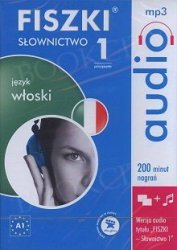 Fiszki Audio Włoskie Słownictwo 1