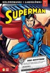 Superman Kolorowanki i łamigłówki 1