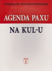 Agenda Paxu na KUL-u Stanisław Jan Rostworowski