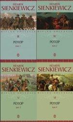 Potop Henryk Sienkiewicz TOM 1, 2, 3, 4