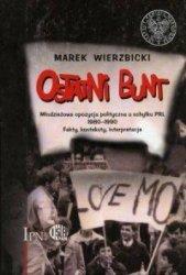 Ostatni Bunt Młodzieżowa opozycja polityczna u schyłku PRL 1980-1990. Fakty, konteksty, interpretacje Marek Wierzbicki