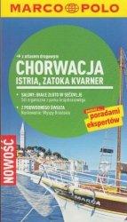 Chorwacja, Istria, Zatoka Kvarner przewodnik z atlasem drogowym Marco Polo