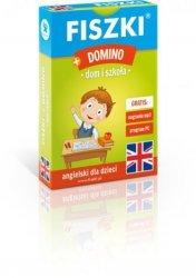 Fiszki obrazkowe + Domino. Dom i szkoła język angielski Kinga Perczyńska