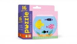 Puzzle malucha W akwarium 16 elementów