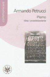 Pismo Idea i przedstawienie Armando Petrucci