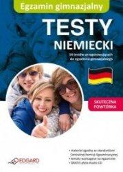 Niemiecki Egzamin gimnazjalny Testy + CD
