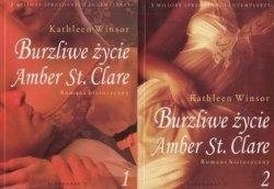 Burzliwe życie Amber St. Clare Tom 1 i 2 Kathleen Winsor