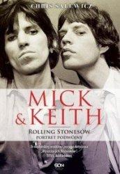 Mick i Keith Rolling Stonesów portret podwójny Chris Salewicz