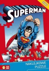 Superman Naklejkowe puzzle