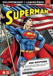 Superman 4 Kolorowanki i łamigłówki