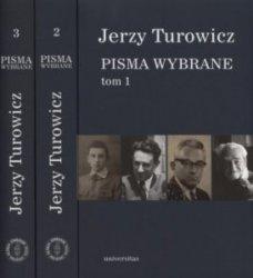 Pisma wybrane Tom 1-3 Jerzy Turowicz