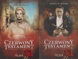 Czerwony testament Ksawery De Montepin TOM 1 i 2