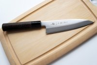 Nóż Deba 15,5cm Tojiro Zen Kasztan