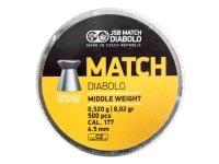 Śrut Diabolo JSB MATCH LG 100 4,5 mm 1 op. = 500 szt.
