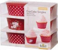 Foremki do cupcake LA VIE EN ROSE - 6 szt Birkmann