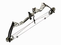 Łuk bloczkowy Poe Lang Rex Skull Camo 20-65 lbs
