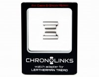 Adapter ChronoLinks 16 mm Silver do mocowania zegarka Casio G-Shock na multitoolu Leatherman Tread