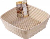 Koszyk do wyrastającego chleba - kwadratowy 23 cm Birkmann
