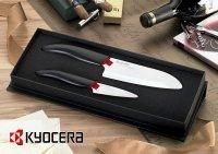 Zestaw noży ceramicznych Santoku 14cm + nóż do obierania 7.5cm WH Kyocera