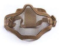 Maska ochronna typu Stalker ASG Lower Half Metal - Tan (17999)