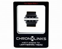 Adapter ChronoLinks 38 mm Black do mocowania zegarka Apple Watch na multitoolu Leatherman Tread