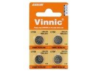 Baterie alkaliczne AG13 Vinnic, 4 szt. blister