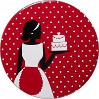 Talerz ceramiczny do tortu CAKE COUTURE - L Birkmann