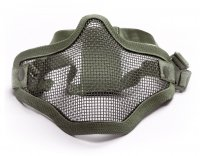 Maska ochronna typu Stalker ASG Lower Half Metal - Olive (18000)