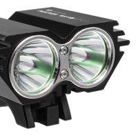 Super mocna lampa rowerowa LED, PANTHER 1300 lm