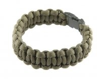 Bransoletka Paracord 550 Olive