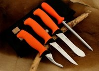 Komplet noży i ostrzałka EKA Butcher Set