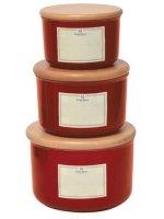 Pojemnik kuchenny hermetyczny 1L - czerwony Emile Henry