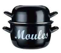 Kitchen Craft Garnek do małży MOULES 18 cm