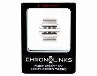 Adapter ChronoLinks 42 mm Silver do mocowania zegarka Apple Watch na multitoolu Leatherman Tread