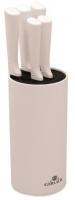 Gerlach 994 - komplet noży kuchennych (5 szt.) w białym bloku