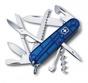 Victorinox Huntsman 1.3713.T2 transparent blue